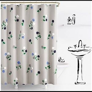 Kate spade shower curtain- willow court print